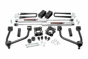 Rough Country 3 5 Lift Kit Fits 2007 2020 Toyota Tundra N3 Shocks Bolt On