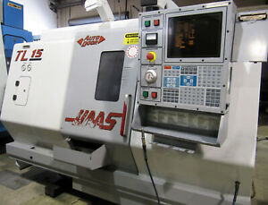 2001 Haas Tl 15 Live Tool Cnc Lathe W Sub spindle Parts Catcher Incl Holders