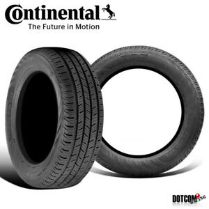 2 X New Continental Contiprocontact 225 45r17 91h All Season Grand Touring Tire