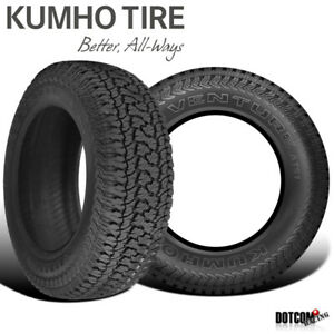 2 X New Kumho At51 Road Venture At Lt285 75r16 126 123r All Terrain Tire