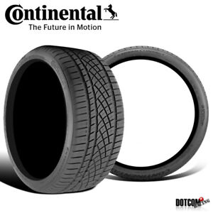 2 X New Continental Extremecontact Dws06 245 40r17 91w All season Radial Tire