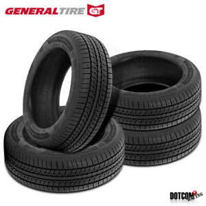 4 X New General Altimax Rt43 205 55r16 91h All season Touring Tire