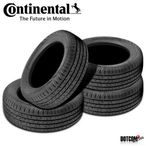 4 X New Continental Contiprocontact 215 45r17 87h All Season Grand Touring Tire
