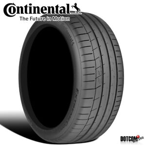 1 X New Continental Extremecontact Sport 285 40r17 1w Performance Summer Tire