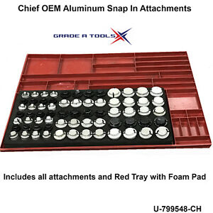Used aluminum Snap In Set Chief Measuring System Velocity Vector Genesis