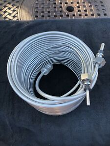 Jockey Box Stainless Steel Coil 120 Right Hand Coil