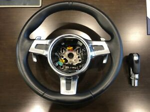 Porsche 991 911 Turbo 4s Cayman 987 Boxter Leather Steering Wheel 991 347 803 60