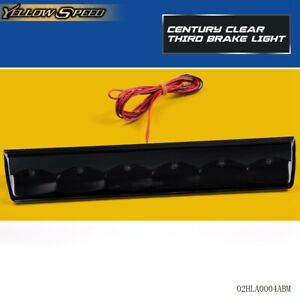 Fit For Truck Cap Topper Leer Are Century Clear Third Brake Light Led Smoke