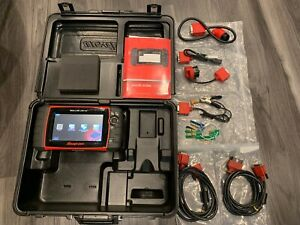 Snap On Solus Ultra Eesc318 Diagnostic Scanner Version 14 2 In Case Extras