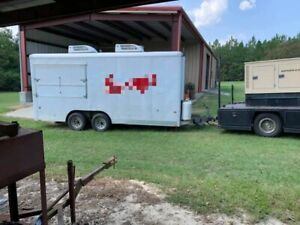 2010 28 Food Concession Trailer And 1997 F350 Truck W Diesel Generator For Sal