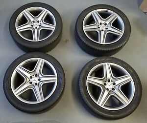 4 Mercedes Benz Amg Ml63 Oem 20 Wheels Rims Tires Perrile 275 45 R20