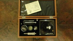 Bruel Kjaer Accelerometer With Original Wood Case And Accessories 4332