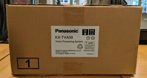 Panasonic Kx tva50 Voice Processing System With Ac Adaptor Power Cord Qty 2