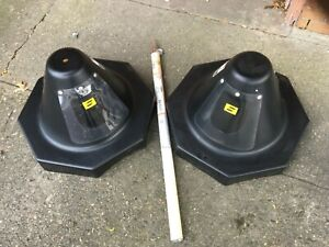 Octagon Dual Access Drum Hoods set Of 2 Plus Welding Electrodes