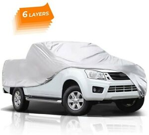 Audew 6 Layers Truck Cover All Weather Cover Waterproof Fits Silverado Sierra
