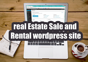I Will Design A Professional Real Estate Sale And Rental Wordpress Site