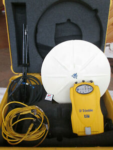 Trimble R7 Gps Unit With Zephyr Antenna Case Etc For Surveying Survey