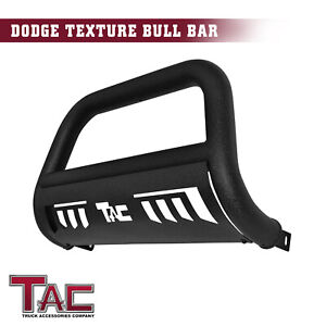 For 2009 2018 Dodge Ram 1500 3 Texture Bull Bar Grille Guard Front Bumper Black