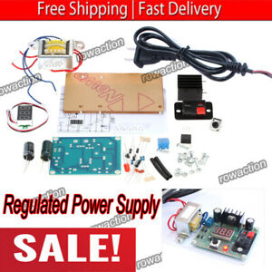Continuously Adjustable Ac dc Regulated Power Supply Diy Kit Lm317 1 25 12v Usa