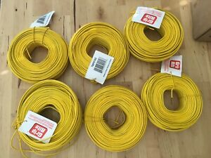 Lot Of 6 Grip rite 16 Gauge Plastic Coated Coil Rebar Tiewire