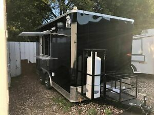New 2021 8 5 X 14 Food Concession Trailer Mobile Kitchen Unit For Sale In T