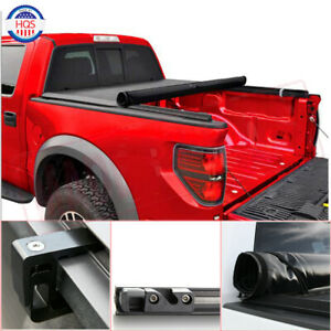 Roll Up Soft Tonneau Cover 5 5 Feet 66 For 2007 2019 Toyota Tundra Crew Max Cab