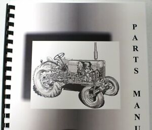 Allis Chalmers 100 Self propelled All Crop Harvester Parts Manual