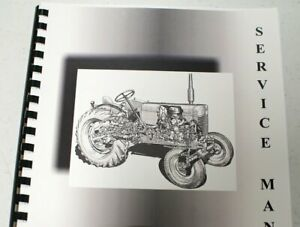Allis Chalmers Fd20 Crawler Dozer Undercarriage Equipment Service Manual