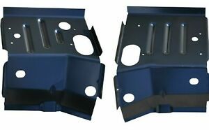 Front Cab Mount Floor Supports For 80 96 Ford F series Pickup Bronco Pair