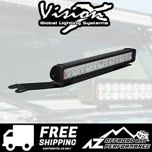 Vision X Vspec Upgrade Hood Light Bar Kit For 07 Jeep Wrangler Jk 9891002