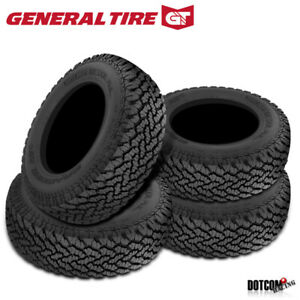 4 X New General Grabber At2 265 70r18 116s Tire