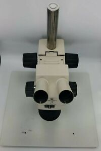 Olympus Szh Stereo Microscope Body With Stand Szx stl