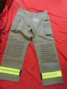 N o s Mfg 2016 Morning Pride 42 X 36 Fire Gear Turnout Pants shell Only