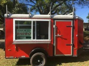 Never Used 6 X 10 Food Concession Trailer Ready For Personalization For Sale I