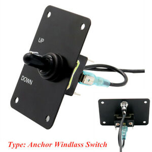 76 52mm Winch Winch Upper lower Toggle Switch Control Panel