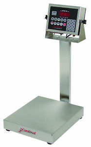 Cardinal Eb 150 210 Stainless Steel Bench Scale Indicator 150lb X 0 05lb Ntep