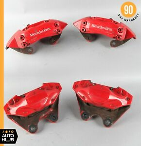 00 03 Mercedes W163 Ml55 Amg Front Rear Brake Caliper Calipers Set Brembo Oem