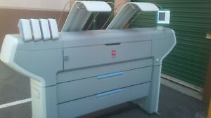 Oce B w And Color Printer Scanner Tds 600 And Colorwave 650
