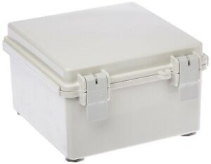 Project Box Junction Box Plastic Abs Nema 4 4x Box With Hindged Solid Door