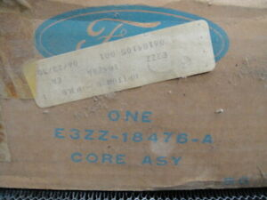 Nos Oem 1983 84 Ford Mustang Gt Svo Turbo 302 Heater Core W O A C
