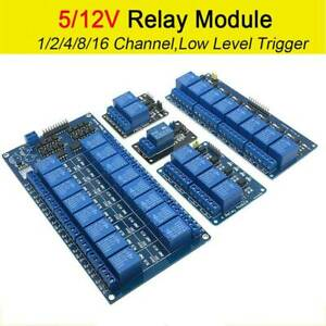 1 16 Channel 5v 12v Relay Module Board For Arduino Raspberry Pi Arm Avr Dsp Pic