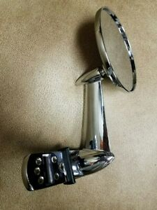 Chrome Door Rearview Mirror 1953 66 Ford Pickup Truck Each