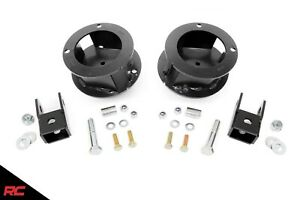 Rough Country 377 Front 2 5 Leveling Lift Kit 2014 2019 Dodge Ram 2500 3500 4wd
