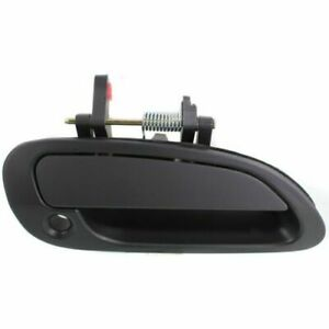 For 1998 2002 Honda Accord Coupe Right Door Handle Outside Prime Blk W Keyhole