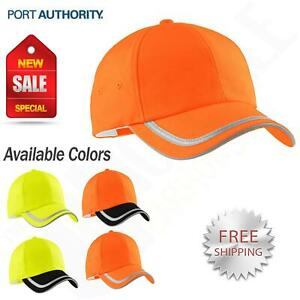 Port Authority Safety Construction Workwear Enhanced Visibility Cap M c836