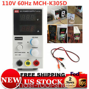 Dc Power Supply Variable 3 Digital Display 0 30v Switching Adjustable 0 5a