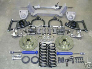 1955 1959 Chevy Truck Mustang Ii Front Suspension Power Rack 2 Drop Ford Rotors