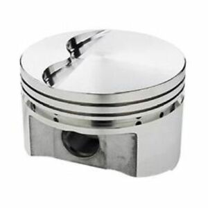 Srp 138082 Flat Forged Pistons 4 040 Bore 8 Set For Small Block Chevy 350 400
