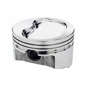 Srp 203194 Forged Dish Pistons 4 030 bore Set Of 8 For Small Block Chevy 350 400
