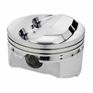 Srp 140344 Forged Dome Pistons 4 030 bore Set Of 8 For Small Block Chevy 350 400